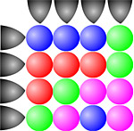 Собери шарики
