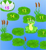 Помоги лягушке поиграть бесплатно