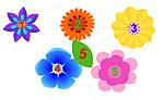Цветочки и листик поиграть бесплатно