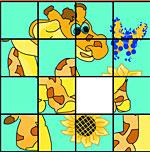 Пятнашки-жираф