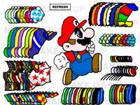Разукрась Марио