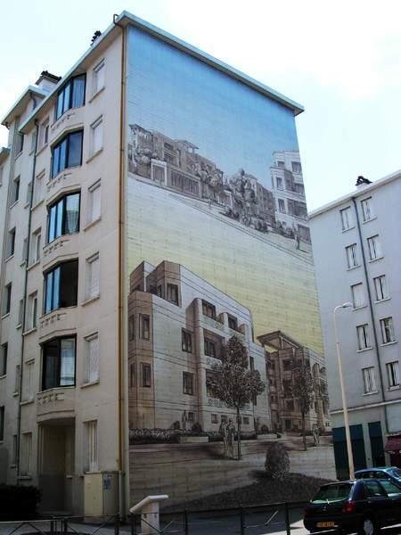 Рисунки на стенах домов: Рис.6