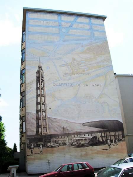 Рисунки на стенах домов: Рис.9