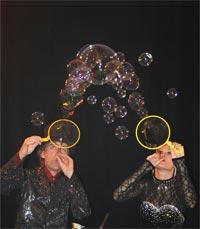 Шоу мыльных пузырей: Рис.10