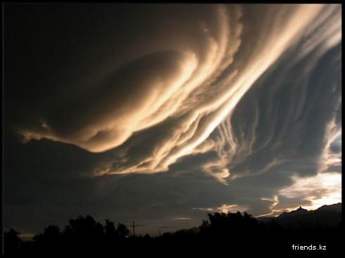 Облака и формы, которые они принимают: Рис.8