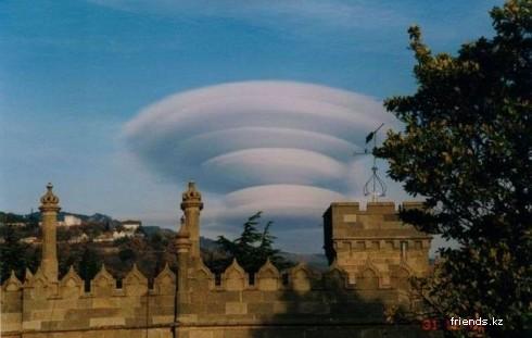 Облака и формы, которые они принимают: Рис.13