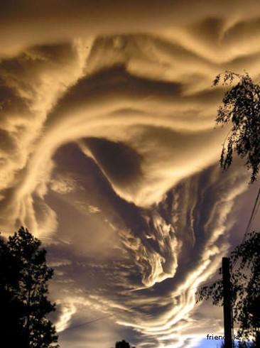 Облака и формы, которые они принимают: Рис.17