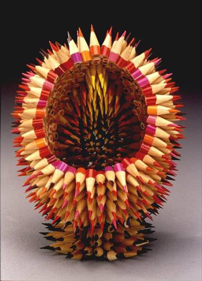 Поделки из карандашей: Рис.7