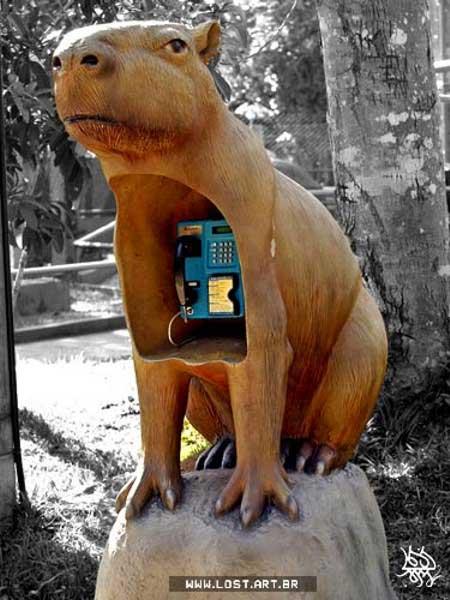 Необычные телефонные будки: Рис.2