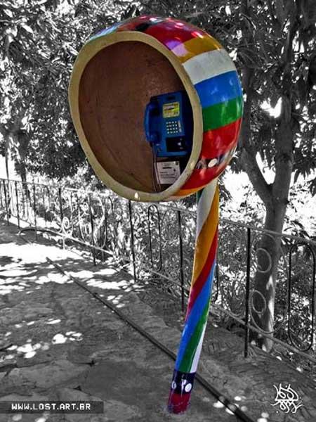 Необычные телефонные будки: Рис.13