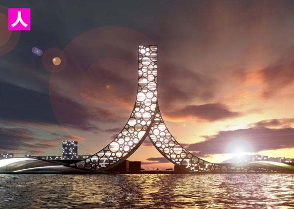 Проект здания в Шанхае: Рис.1
