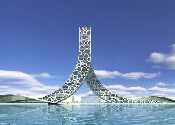 Проект здания в Шанхае: Рис.2