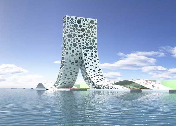 Проект здания в Шанхае: Рис.3