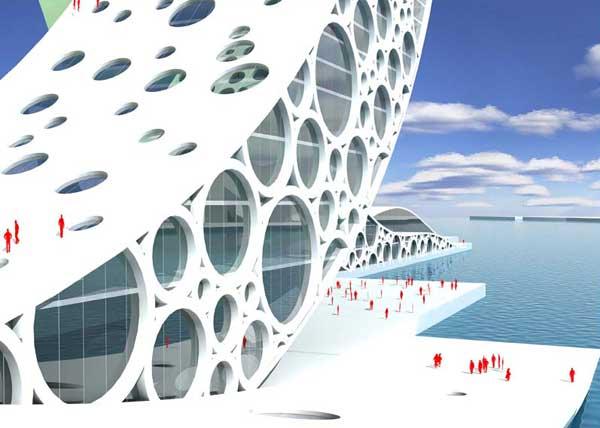 Проект здания в Шанхае: Рис.4