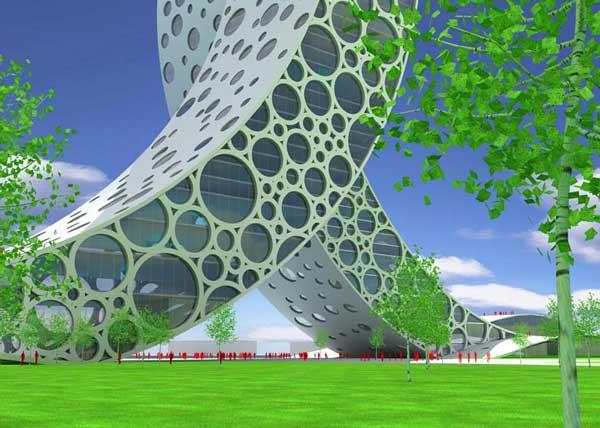 Проект здания в Шанхае: Рис.5