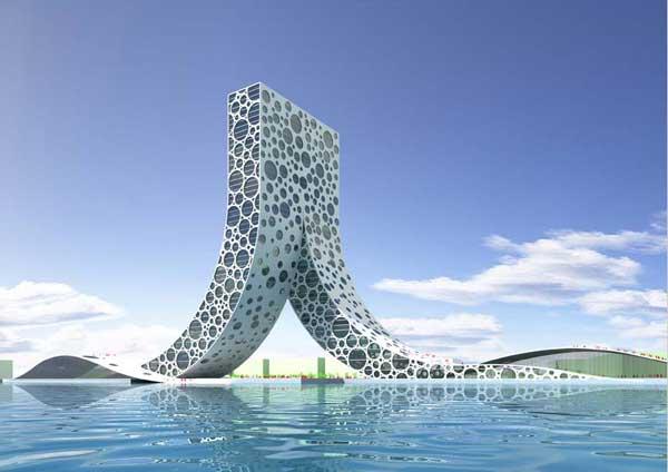 Проект здания в Шанхае: Рис.6
