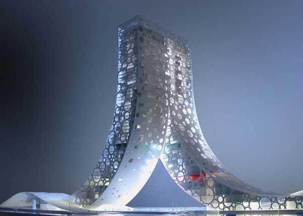 Проект здания в Шанхае: Рис.8