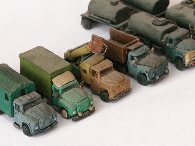 Пластилиновые машинки: Рис.12