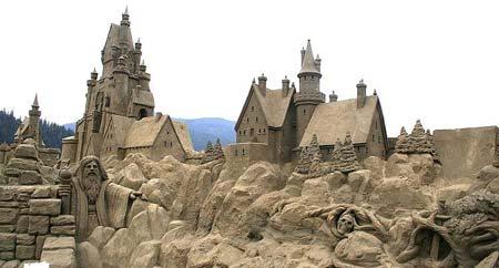 Скульптуры из  песка: Рис.1