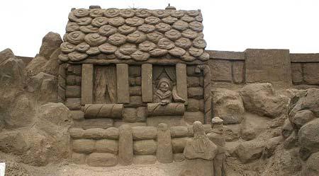 Скульптуры из  песка: Рис.2