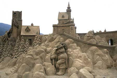 Скульптуры из  песка: Рис.3