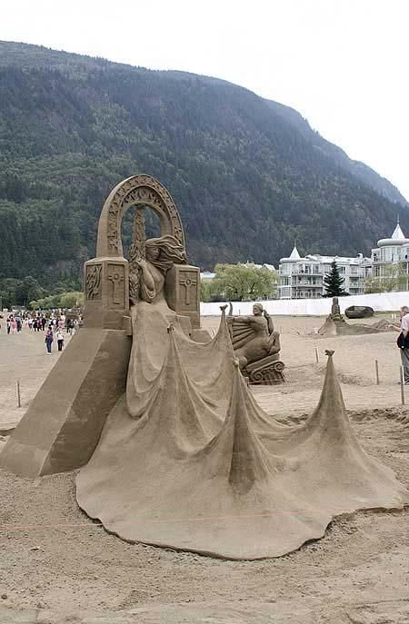 Скульптуры из  песка: Рис.5