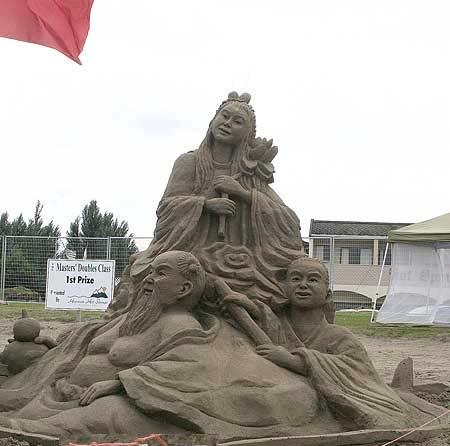 Скульптуры из  песка: Рис.7