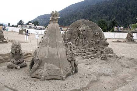 Скульптуры из  песка: Рис.9
