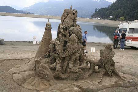 Скульптуры из  песка: Рис.11
