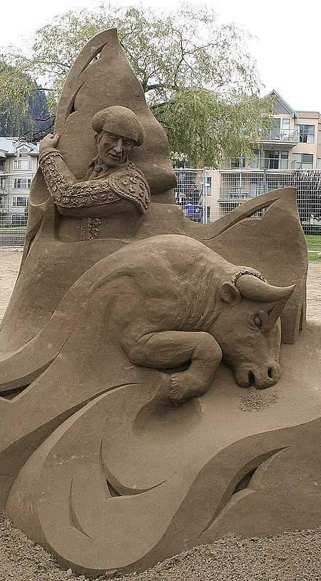 Скульптуры из  песка: Рис.12