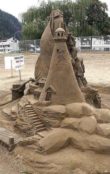 Скульптуры из  песка: Рис.13