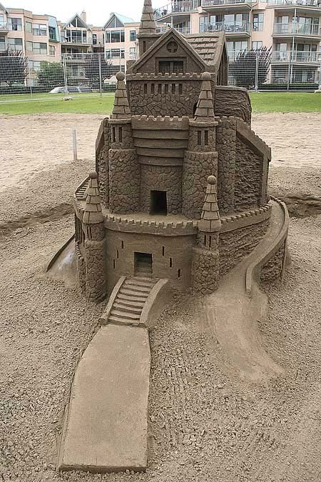 Скульптуры из  песка: Рис.14