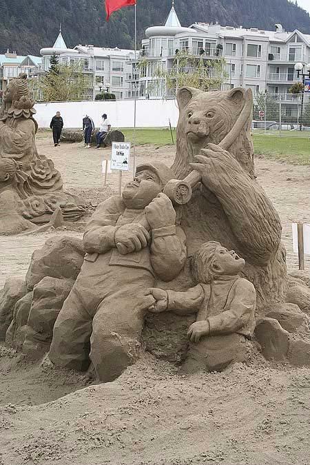 Скульптуры из  песка: Рис.16