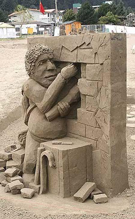 Скульптуры из  песка: Рис.17