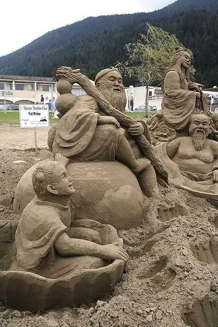 Скульптуры из  песка: Рис.19