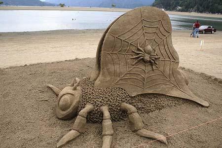 Скульптуры из  песка: Рис.22