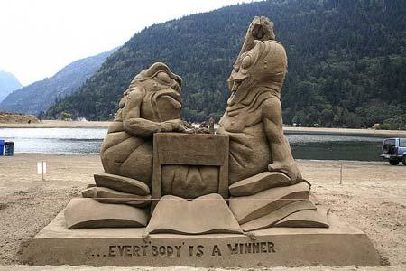 Скульптуры из  песка: Рис.23