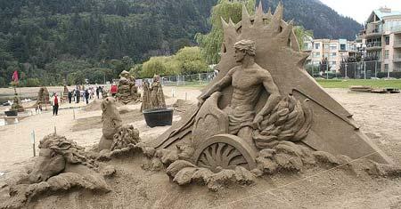 Скульптуры из  песка: Рис.25