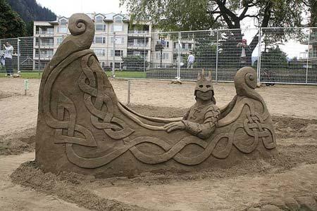 Скульптуры из  песка: Рис.26