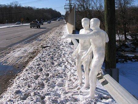 Скульптуры из скотча: Рис.6