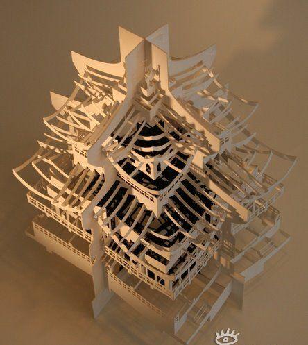 Здания из бумаги: Рис.2