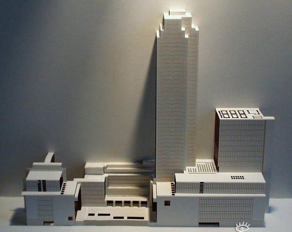 Здания из бумаги: Рис.10