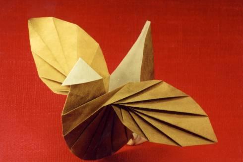 3д оригами схемы. оригами корзинка.