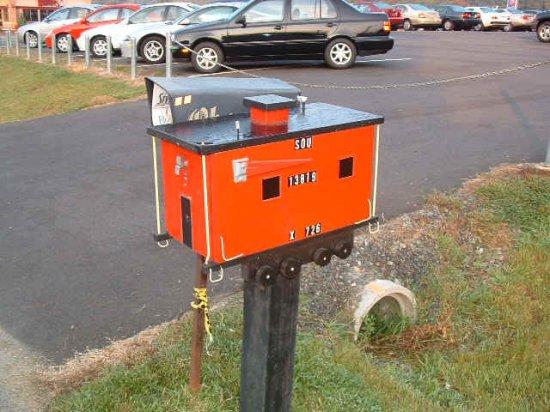 Ящики для почты: Рис.7