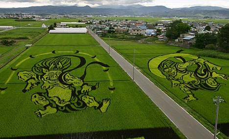 Произведения искусства из риса: Рис.2