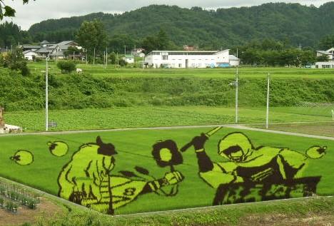 Произведения искусства из риса: Рис.5