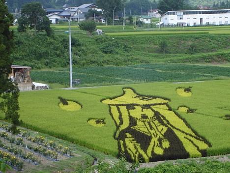 Произведения искусства из риса: Рис.6