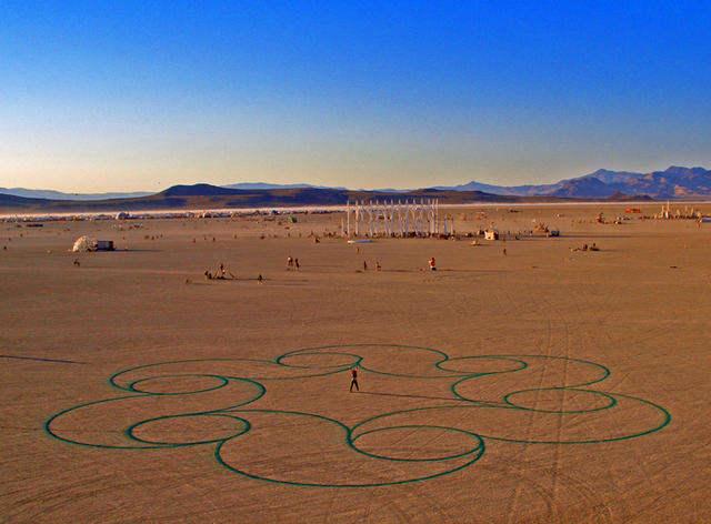 Рисунки на песке: Рис.4