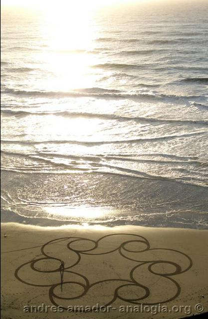 Рисунки на песке: Рис.6