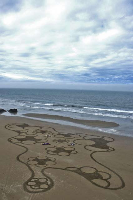Рисунки на песке: Рис.12